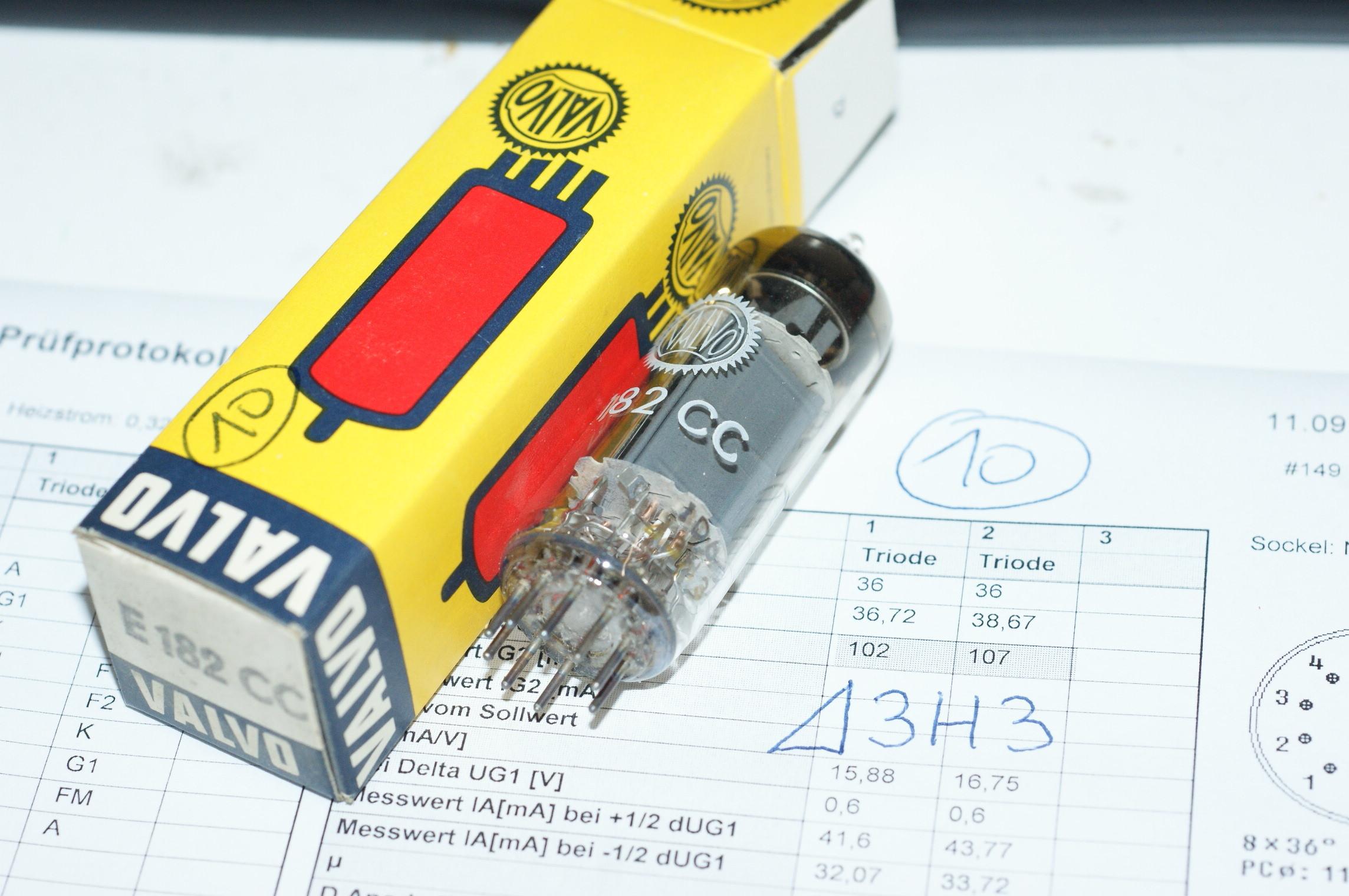 E182CC 7119 Röhre Tube