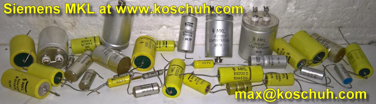 Siemens MKL Audiophile Signal Coupling Capacitor Audiophiler